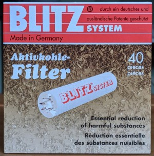 Blitz 9mm Filters (pack of 40)