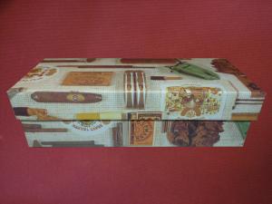 Gift Wrap Pipe Box